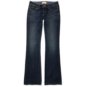 Paige Hollywood Hills Bootcut Slim Fit Jeans